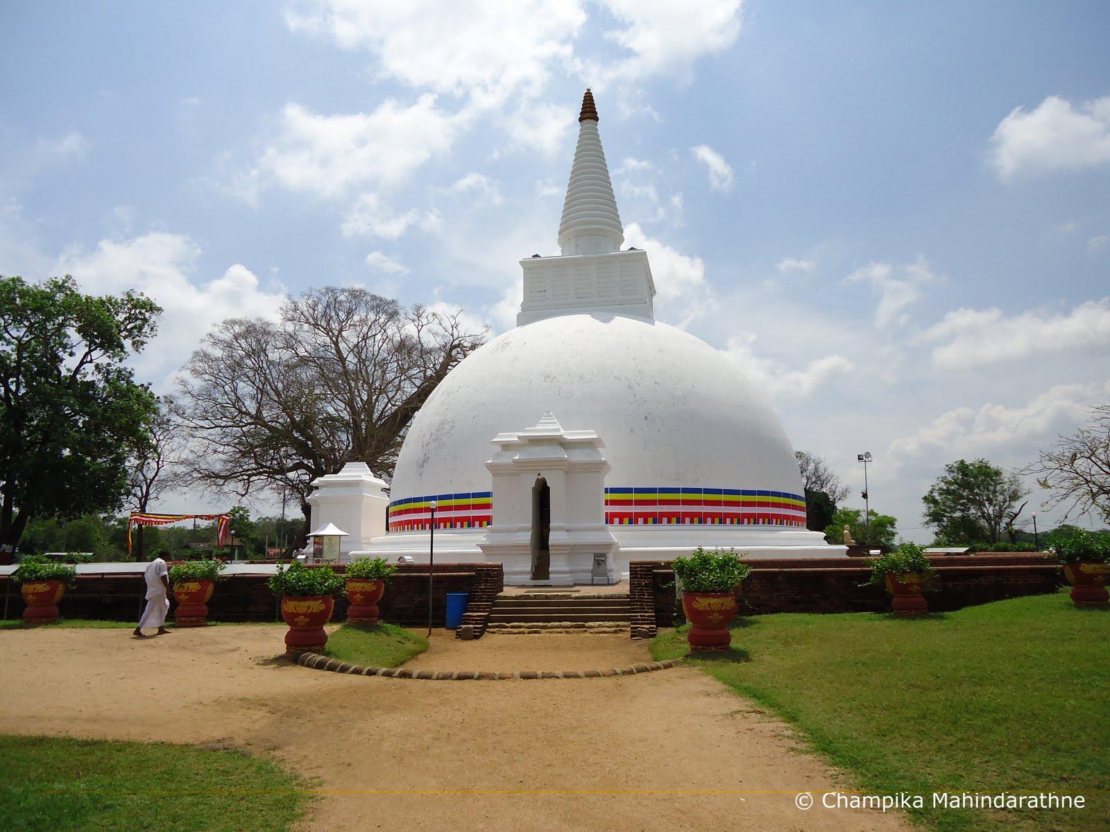Sri Lankan Spirit: Somawathi Stupa,Sri Lanka