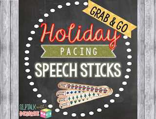 Holiday Pacing Sticks