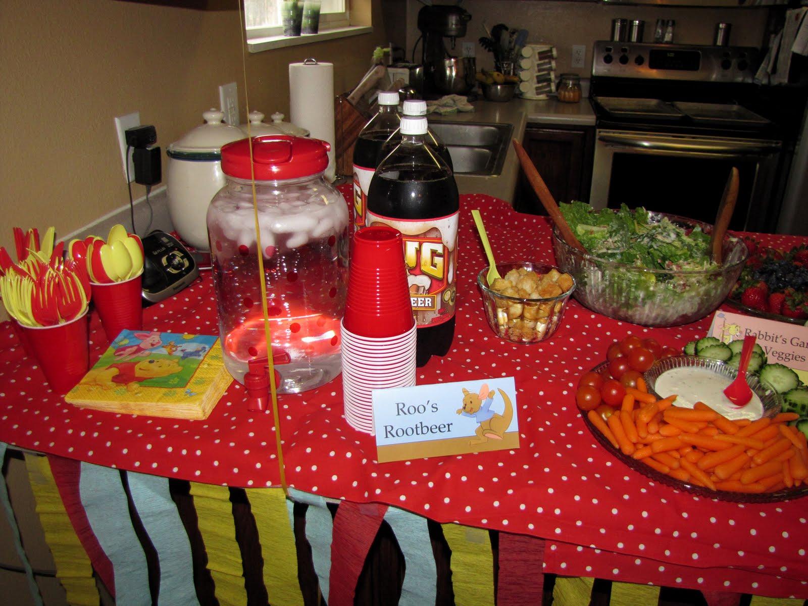 The Buell Family Pooh Bear Birthday Party