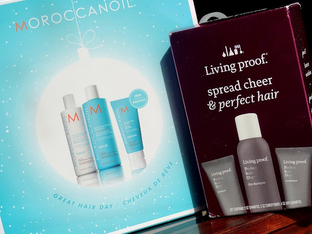 Fabulous Holiday Haircare Kits From Living Proof & Moroccanoil!