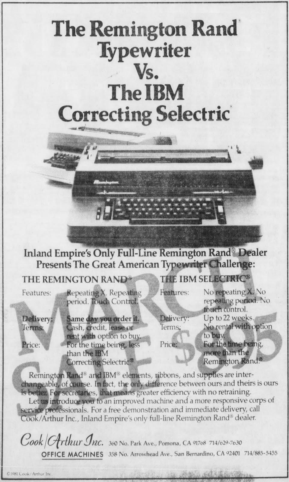 oz.Typewriter: Reviving Remington Rand: The Typewriter