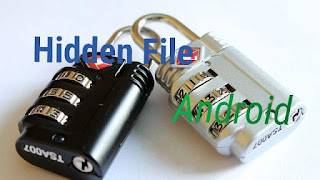 Hidden file di android