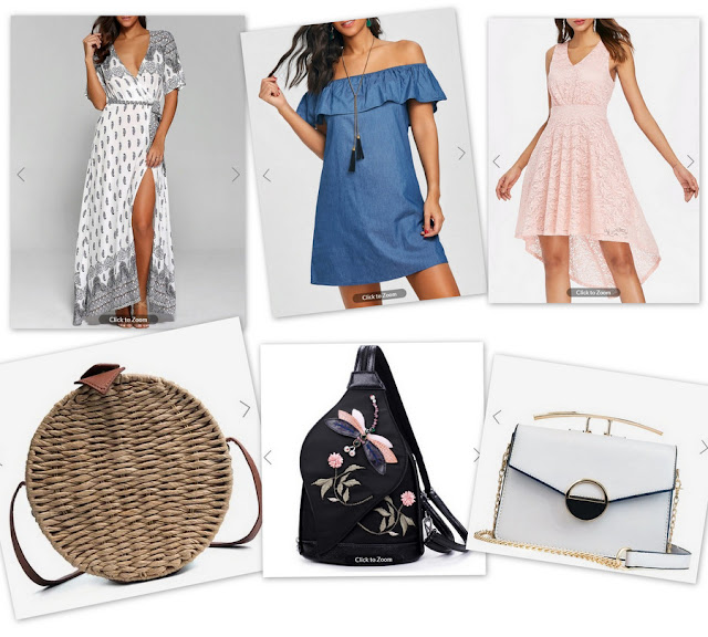Anniversary 6th of Dresslily in 16-08-2018. My summer inspiration - Wish-List