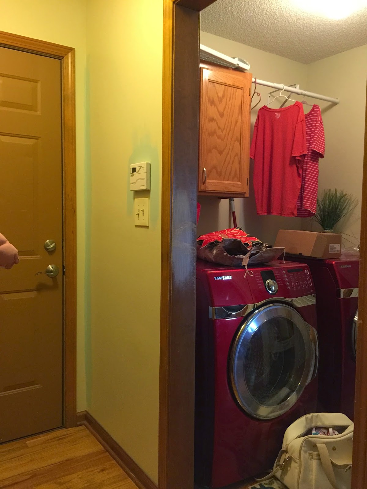 Freshening Up The Laundry Room