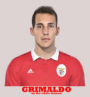 PES 2019 Faces Álex Grimaldo by The White Demon