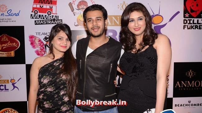 Jay Soni and Vahbiz Dobrajee, Box Cricket League Success Party - Tv Babes as Guests
