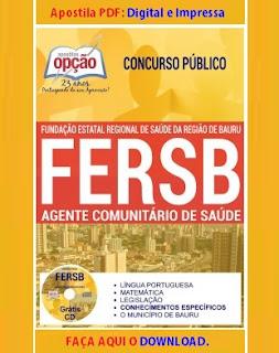 Apostila pdf FERSB - Fundação do Município de Bauru download grátis.
