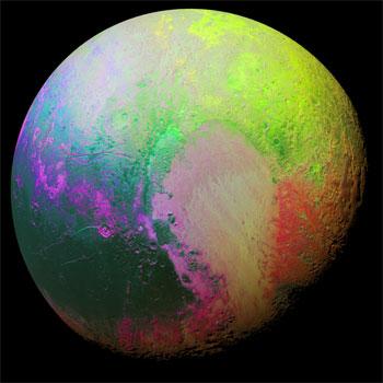 وكالة ناسا تبث فيديوهات حول كوكب بلوتو وقمر شارون