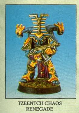 Original Thousand Sons Marine for Warhammer 40,000