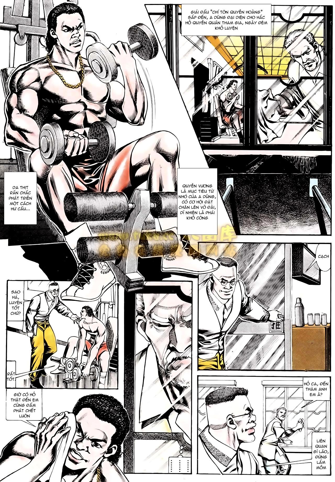 Người Trong Giang Hồ chapter 166: bùng nổ trang 12
