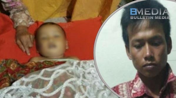 Kejam! Marah Isteri Tak Masak Nasi, Suami Tendang Anak Sampai Mati..