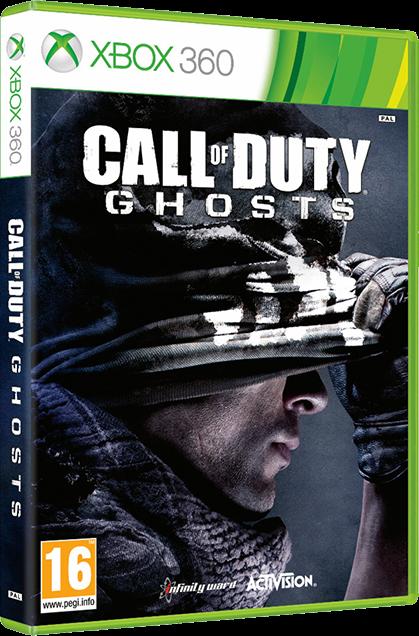 Call of Duty Ghosts Dublado em Português Xbox 360 ~ Acervo
