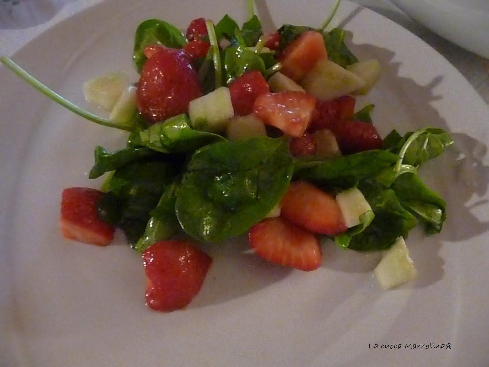 La cuoca marzolina insalata di fragole cetrioli e for Cucinare cetrioli