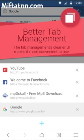 Aplikasi Browser Android UC Browser Mini Apk
