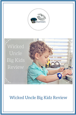 Wicked Uncle Big Kidz review pin me