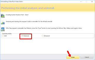 Cara Hapus program Aplikasi sampai bersih di Windows