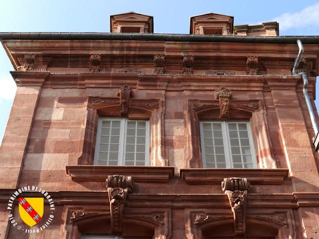 LUNEVILLE (54) - Maison du Marchand (XVIIIe siècle)