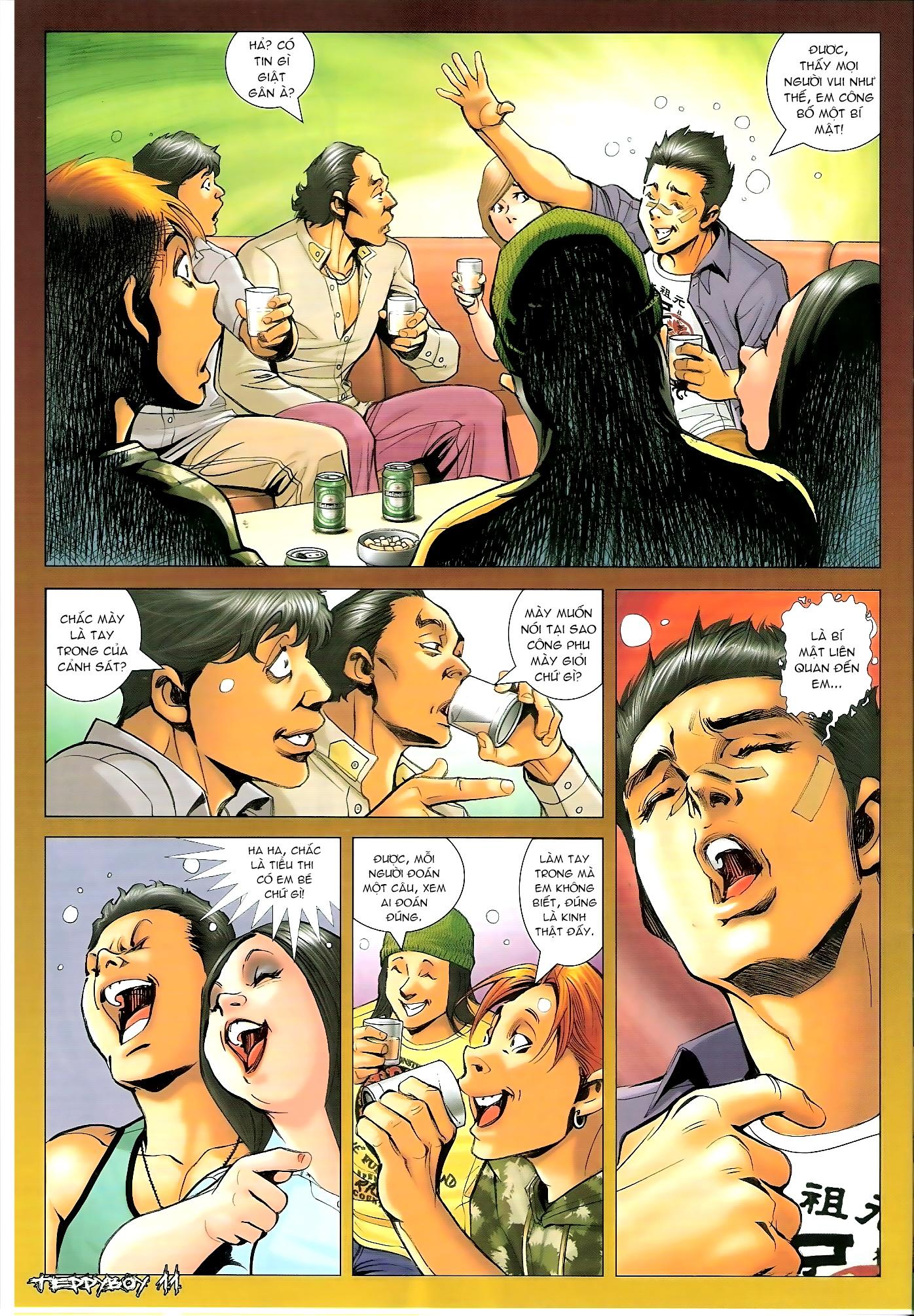 Người Trong Giang Hồ - Chapter 1310: Đừng gạt em nữa - Pic 10