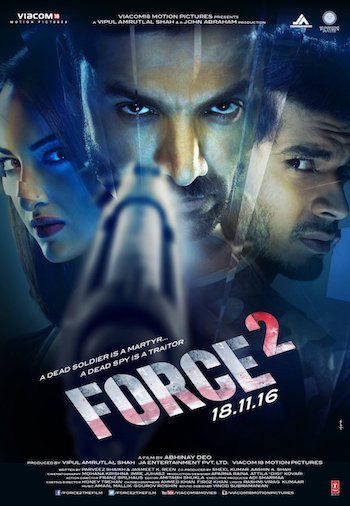 Force 2 2016 Hindi Full Movie Download 720p DVDScr 1.1GB