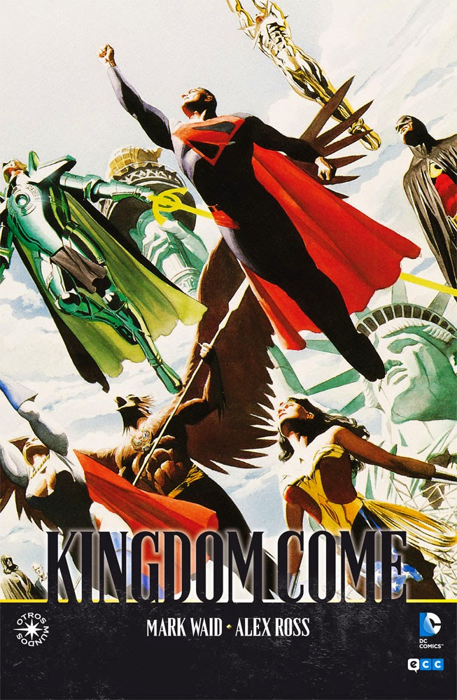 "Cómic: review de ""Kingdom Come"" de [ECC Ediciones]."
