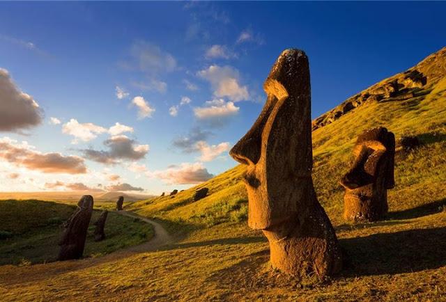 Excursão na Ilha de Páscoa
