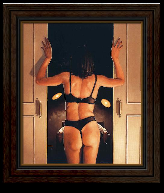 artist Jack Vettriano - His favourite girl