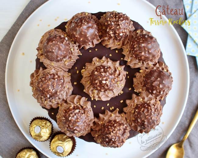 recette layer cake nutella