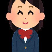 女子高校生・女子中学生のイラスト(ブレザー)