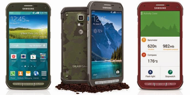 Full Specifications And Price Samsung Galaxy S5 Active