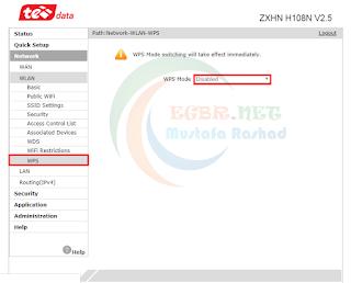 شرح طريقة استخدام راوتر ZXHN H108N V2,5 كا اكسز بوينت