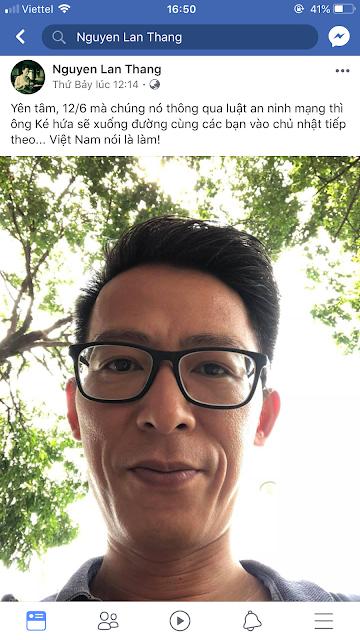 Nguyễn Lân Thắng chỉ là thằng nói phét