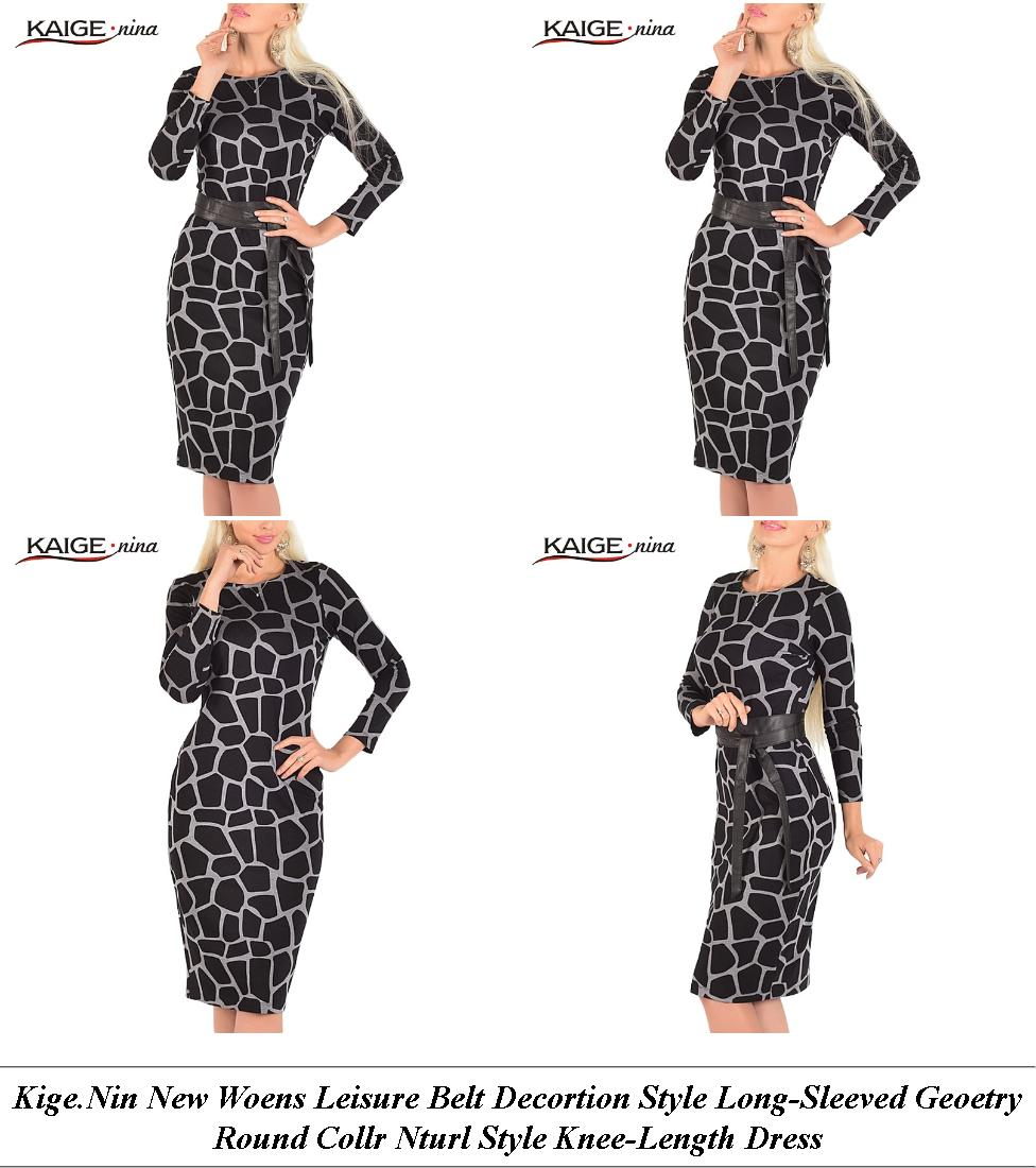 Lack Summer Dress Midi - Cheap Plus Size Womens Clothing Online - Online Dress Shopping