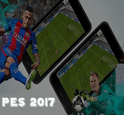 تحميل لعبة كرة القدم pes 2017 أخر إصدار للأندرويد