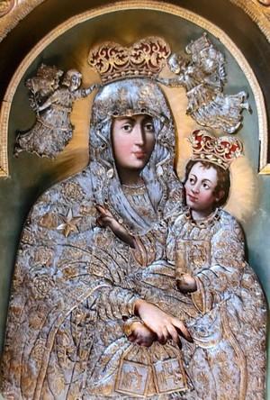 Obraz Matki Bożej Szkaplerznej w Bydgoszczy