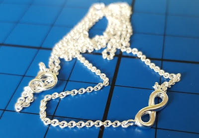Infinity symbol Sterling silver necklace review