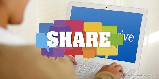 compartir archivos OneDrive - iniciar sesion