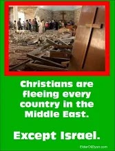 CHRISTIANS ARE FLEEING EVERY COUNTRY IN THE MIDDLE EAST - EXCEPT ISRAEL!!