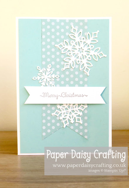 Snowfall Thinlits dies - Stampin Up