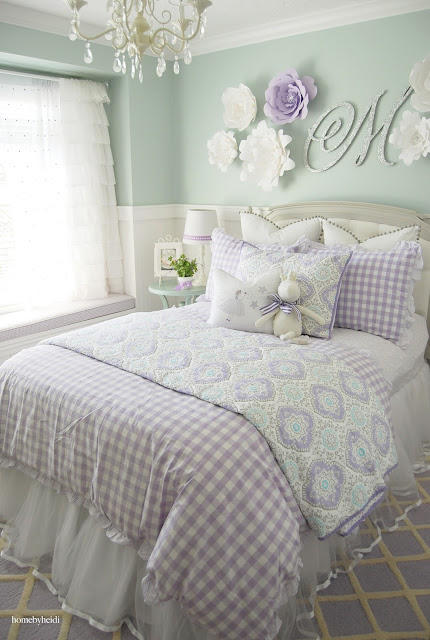 Home By Heidi Purple Amp Turquoise Little Girls Room