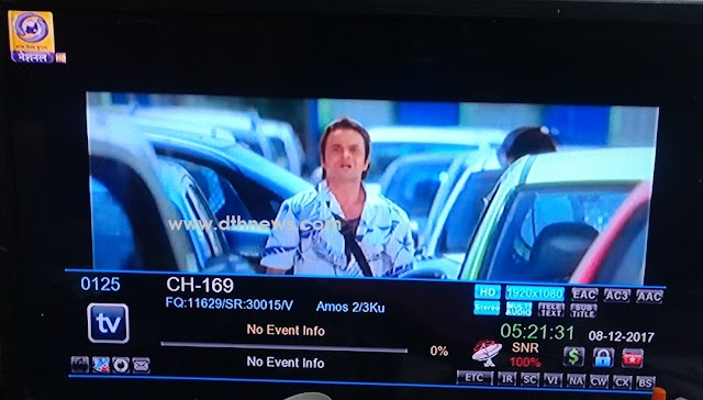 DD Free Dish Testing first HD channel on its DTH platform