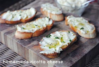 Блюда с сыром рикотта