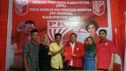 Ketua APDESI Luwu Daftarkan Patahuddin di PKPI
