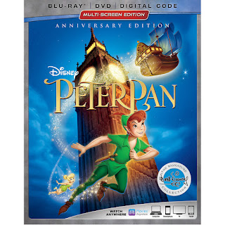 PETER PAN: MULTI-SCREEN ANNIVERSARY EDITION DVD