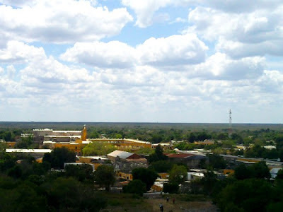 Vista Aerea Izamal Yucatan Mexico