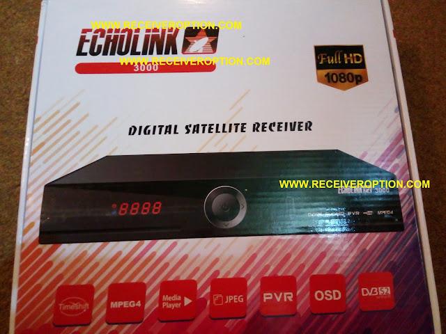 ECHOLINK 3000 HD RECEIVER POWERVU KEY OPTION