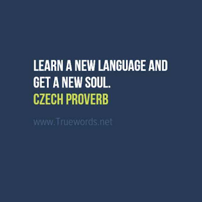 Learn a new language and get a new soul