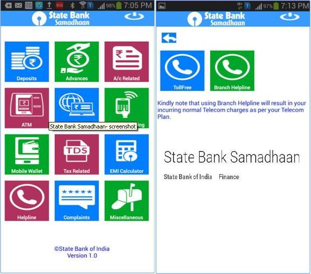 State Bank Samadhaan App