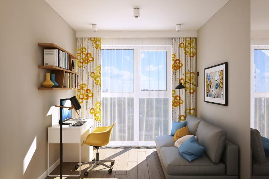 wystrój wnętrz, wnętrza, urządzanie mieszkania, dom, home decor, dekoracje, aranżacje, styl skandynawski, scandinavian style, ciepłe kolory, gabinet, home office