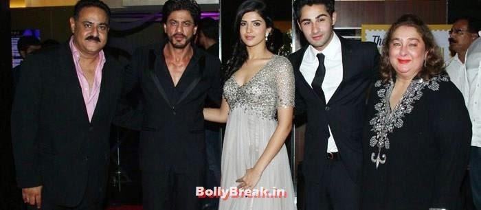 Aadar Jain, Shah Rukh Khan, Deeksha Seth, Armaan Jain, Reema Kapoor