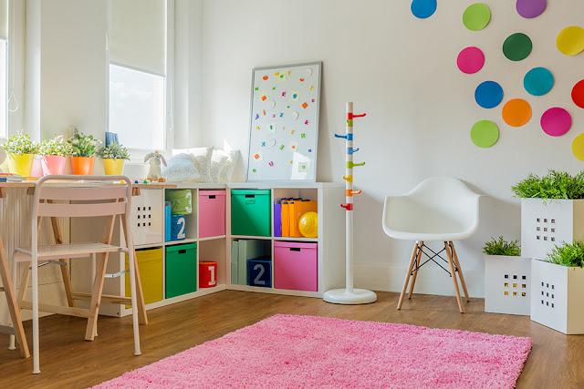 Idei pentru organizarea camerei copilului